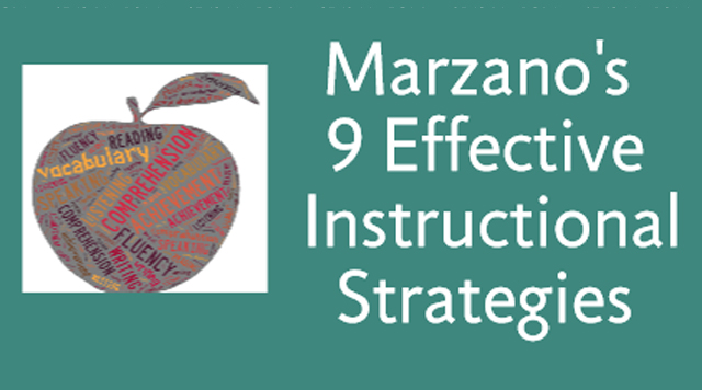 Marzano's 9 Effective Instructional Strategies