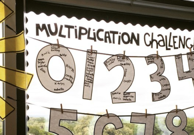 Multiplication Challenge Display